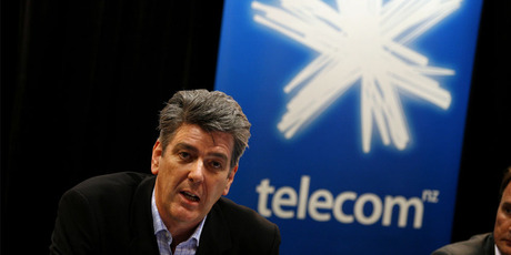 Telecom chief executive Paul Reynolds is leaving the phone company at the end of June.