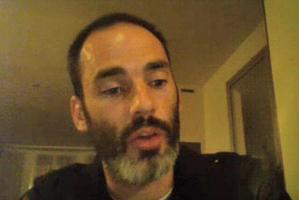 Robin Hammond spoke via Skype from Paris. Photo / Supplied