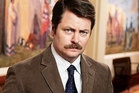 Ron Swanson, from Parks and Recreation. Photo / Supplied