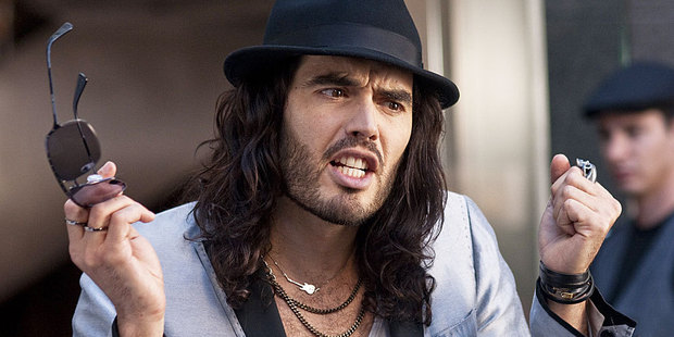 You don't want to heckle Russell Brand during a live show. Photo / Supplied