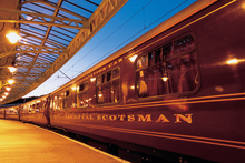 The Royal Scotsman. Photo / Supplied