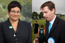 Green Party co-leader Metiria Turei and Conservative Party leader Colin Craig. Photos / Alan Gibson, Richard Robinson 