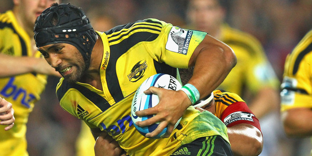 Victor Vito is emerging as a direct replacement for Jerome Kaino. Photo / Getty Images
