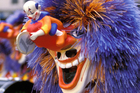 A Waggis - one of the traditional Basel Fasnacht costumes. Photo / Thinkstock