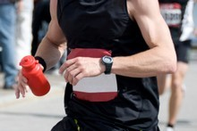 GPS technology helps to track your runs and reach your goal. 