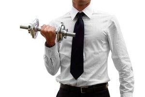 Wweating it out is increasingly an influential part of the way business is conducted. Photo / Thinkstock