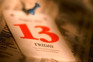 Friday the 13th will come up three times in 2012. Photo / Thinkstock