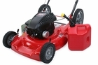 The man caught fire when attempting to fill his lawnmower with petrol while smoking a cigarette. Photo / Thinkstock