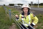 Local firefighter Glen Whitaker has seen a dramatic decrease in crashes since barriers were installed on SH1 in Rangiriri. Photo / Rhys Palmer