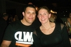 Casey Williams with her fiance Terry Kopua. Photo / Supplied