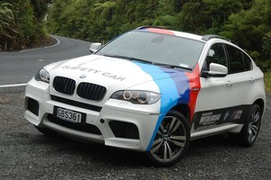 BMW X6M drivers will likely collect a swag of demerit points for speeding. Photo / Jacqui Madelin