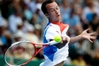 Philipp Kohlschreiber of Germany has made it to the quarter-finals. Photo / Sarah Ivey