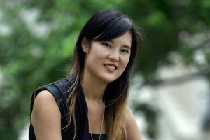 Bevan Chuang is seeking a sperm donor to help her make a 'dragon baby' this year. Photo / Brett Phibbs
