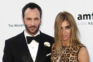 Tom Ford and Corine Roitfeld. Tom Ford has shot his own Spring 2012 campaign. Photo / Supplied