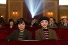 Asa Butterfield plays Hugo Cabret (left) and Chloe Moretz is Isabelle in Hugo. Photo / AP