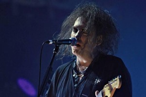 Robert Smith of The Cure. Photo / Supplied