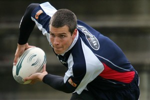 Former North Harbour halfback Grayson Hart hopes to revive his Super Rugby career with the Waratahs. Photo / Brett Phibbs