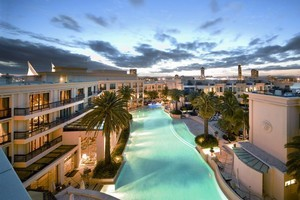 For a sophisticated dip head to Palazzo Versace on the Gold Coast - Australia's first fashion-branded hotel. Photo / Supplied