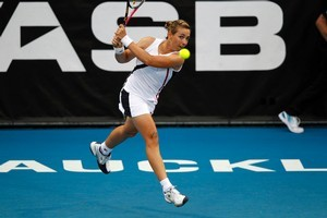 Marina Erakovic will chase her sixth WTA Tour doubles title at the Hobart International. Photo / Dean Purcell