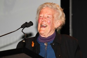 Author Margaret Mahy. Photo / Steven McNicholl