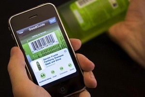 Smartphone users are using apps to compare prices with nearby retailers. Photo / supplied