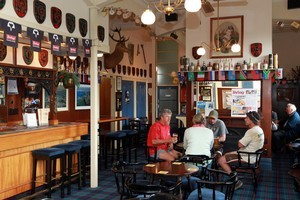 Entering the Northcote Tavern is like walking back in time. Photo / Doug Sherring