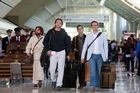 Louis Vuitton alleges Warner Bros ignored its pleas to cut the airport scene featuring fake bags in The Hangover Part II. Photo / File