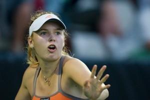 Caroline Wozniacki is chasing her first major. Photo / AP