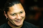 New Zealand athlete Valerie Adams. Photo / Brett Phibbs