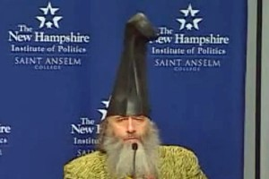 US Presidential hopeful Vermin Supreme. Photo / Youtube