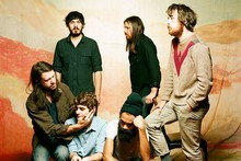 Fleet Foxes are bringing their well-groomed beards to two New Zealand shows this weekend. Photo / Supplied