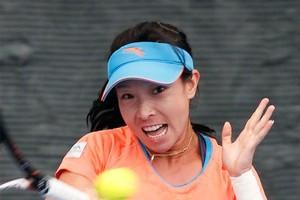 Cina's Zheng Jie. Photo / Natalie Slade