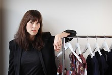 Fashion designer Karen Walker is excited about her break into the US clothing mass market. Photo / Greg Bowker 