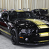 750-hp Shelby GT500 Super Snake, left, and the GT350. Photo / AP