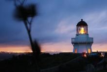 The lighthouse at Manukau Heads on the Awhitu Peninsula. Photo / Supplied