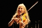 Violinist Fiona Pears has her audiences exhibiting all manner of emotions with her exuberant performances. Photo / APN