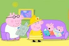 A scene from Peppa Pig. Photo / YouTube
