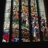 Stained glass window in College Hall. Photo / Supplied