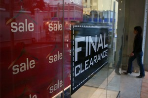 Listings for jobs in the retail sector were up 22 per cent, says Trade Me. Photo / NZ Herald