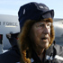 Sir Edmund Hillary talks to the media after his arrival in Antarctica, for the 50th Anniversary of Scott Base, Antarctica, Wednesday, January 18, 2007.  Photo / NZPA