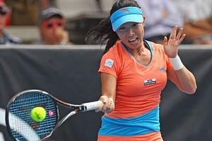 Unseeded Zheng Jie. Photo / Getty Images