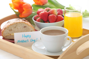 Mother's Day traditional favourite breakfast in bed is out of favour. Photo / Thinkstock