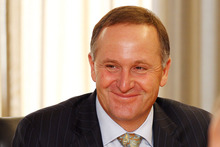 John Key said there was nothing he'd seen from either the Reserve Bank or Treasury to indicate New Zealand was headed back into recession. Photo / Getty Images