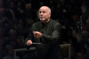 David Zinman will conduct the NZSO in Strauss' Alpine Symphony. Photo / Priska Ketterer