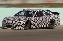 Chevrolet's Holden-based NASCAR in stealth mode. The next-generation Commodore will also be sold as a road car in the US as a Chevrolet SS.