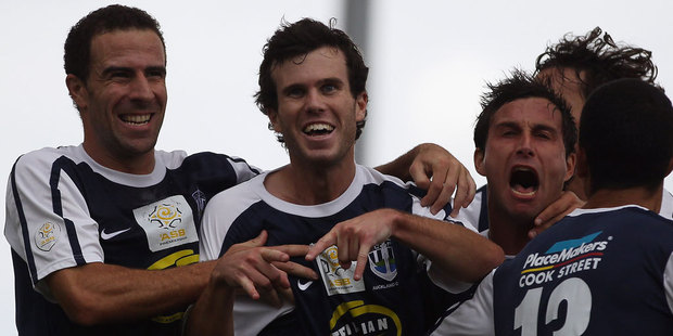 Auckland City have made it back to the lucrative Fifa Club World Cup after defending their O-League crown with a 3-1 aggregate win over Tahitian champions Tefana. Photo / Getty Images.