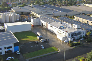 The property offers modern and highly specialised features on a flexible and low coverage site.