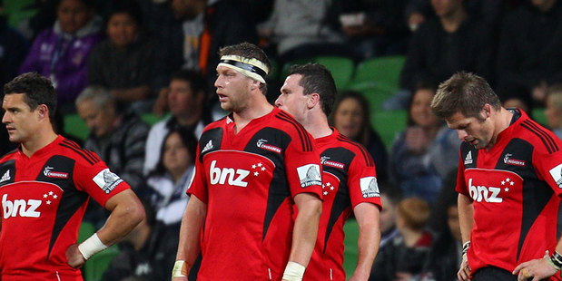 By Crusaders' standards, they are having a troubled season. Photo / Getty Images.