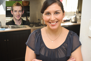 MasterChef's Andrea Bathgate has chosen her cooking career over love. Photo / Jason Dorday