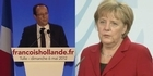Watch: Hollande and Merkel bound to find common ground